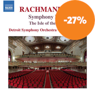 Produktbilde for Rachmaninov: Symphony No.1 / The Isle Of The Dead (CD)