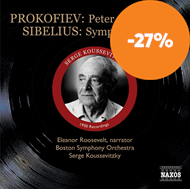 Produktbilde for Prokofiev: Peter & the Wolf; Sibelius: Symphony No 2 (CD)