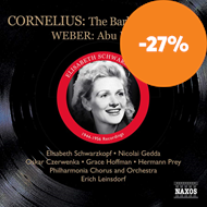 Produktbilde for Cornelius: The Barber of Baghdad; Weber: Abu Hassan (2CD)