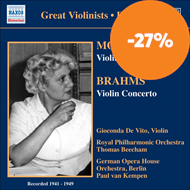 Produktbilde for Mozart; Brahms: Violin Concertos (CD)