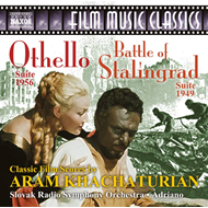 Produktbilde for Khachaturian: Othello - Suite / Battle Of Stalingrad (Suite) (CD)