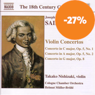 Produktbilde for Saint-Georges: Violin Concertos (CD)