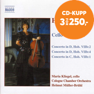 Produktbilde for Haydn: Cello Concertos (CD)