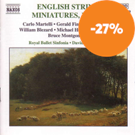 Produktbilde for English String Miniatures, Vol 3 (CD)