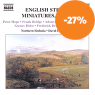 Produktbilde for English String Miniatures, Vol 4 (CD)