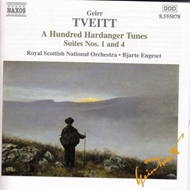 Produktbilde for Tveitt: A Hundred Hardanger Tunes; Orchestral Suites N (CD)