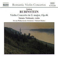 Produktbilde for Rubinstein: Violin Concerto, Op. 46; Cui: Suite Concertante, Op. 25 (CD)
