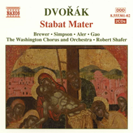 Produktbilde for Dvorák: Stabat Mater (CD)