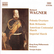 Produktbilde for Wagner: American Centennial March; Imperial March; Polonia Overture etc (CD)