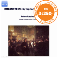 Produktbilde for Rubinstein: Symphony No 2 'Ocean' (CD)