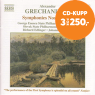 Produktbilde for Grechaninov: Symphonies Nos. 1 and 2 (CD)