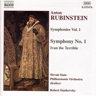 Produktbilde for Rubinstein: Ivan the Terrible. Symphony No. 1. (CD)