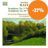 Produktbilde for Raff: Symphonies Nos 3 and 10 (CD)