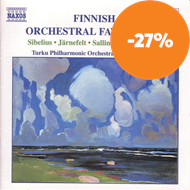 Produktbilde for Finnish Orchestral Favourites (CD)
