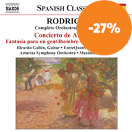 Produktbilde for Rodrigo: Complete Orchestral Works, Vol 2 (CD)