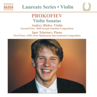 Produktbilde for Prokofiev: Violin Sonatas (CD)