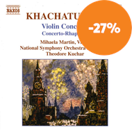 Produktbilde for Khachaturian: Violin Concerto (CD)