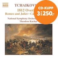 Produktbilde for Tchaiovsky: 1812 overture (CD)