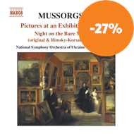 Produktbilde for Mussorgsky: Pictures at an Exhibition (CD)