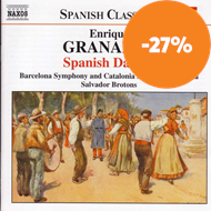 Produktbilde for Granados: Spanish Dances (CD)