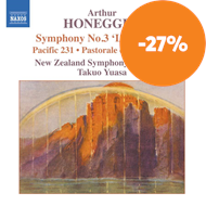 Produktbilde for Honegger: Symphony No 3 (CD)