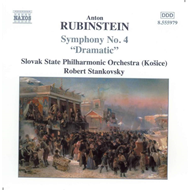 Produktbilde for Rubinstein: Symphony No 4, Op 95 (CD)