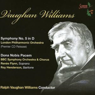 Produktbilde for Vaughan Williams: Symphony No 5 (UK-import) (CD)