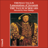 Produktbilde for Tallis: Lamentations of Jeremiah (CD)