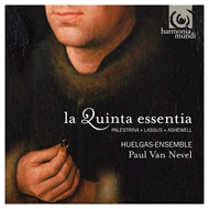 Produktbilde for La Quinta Essentia - Three Renaissance Masses (CD)