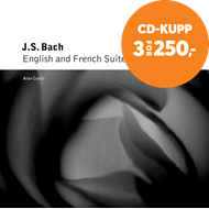 Produktbilde for Bach: English Suites Nos 3 and 4; French Suites Nos 3 and 4 (CD)