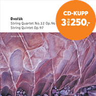Produktbilde for Dvorák: String Quartet, 'American' and Quintet (CD)