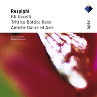 Produktbilde for Respighi: The Birds; Trittico Botticelliano (CD)