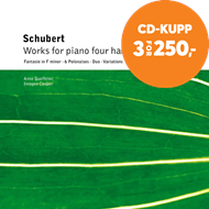 Produktbilde for Schubert: Four Hands piano Works (CD)