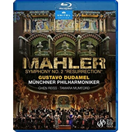 Produktbilde for Mahler: Symphony No. 2 'resurrection' (BLU-RAY)