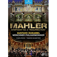 Produktbilde for Mahler: Symphony No. 2 'resurrection' (DVD)