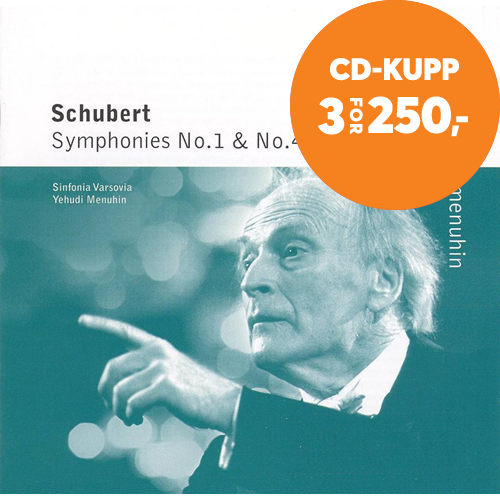 Schubert: Symphonies Nos 1 and 4 (CD)