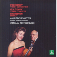 Produktbilde for Anne-Sophie Mutter - Glazunov & Prokofiev : Violin Concertos (CD)