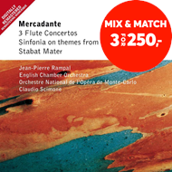 Produktbilde for Mercadante: Flute Concertos (CD)