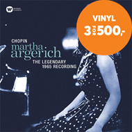 Produktbilde for Martha Argerich - Chopin: The Legendary 1965 Recording (VINYL)