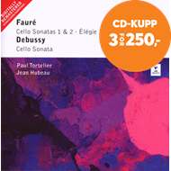 Produktbilde for Faure/Debussy: Cello Sonatas (CD)