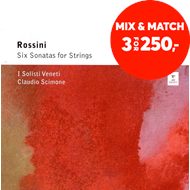 Produktbilde for Rossini: Six Sonatas For Strings (CD)