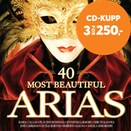 Produktbilde for 40 Most Beautiful Arias (2CD)