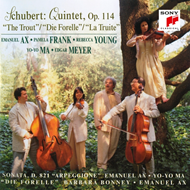Produktbilde for Schubert: Trout Quintet; Arpeggione Sonata (CD)