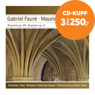 Produktbilde for Faure / Durufle: Reuiem Op.48 / Requiem Op.9 (CD)