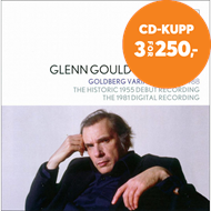 Produktbilde for Glenn Gould Plays Bach - Goldberg Variations (2CD)