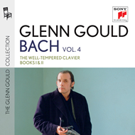 Produktbilde for Glenn Gould Plays Bach - The Well-Tempered Clavier Books 1 & 2 (4CD)