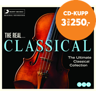 Produktbilde for The Real  Classical (CD)
