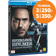 Produktbilde for Sherlock Holmes - A Game Of Shadows (BLU-RAY)