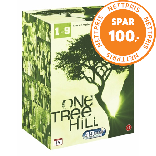 One Tree Hill - Den Komplette Serien (DVD)