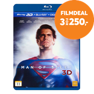 Produktbilde for Man Of Steel (Blu-ray 3D + Blu-ray)